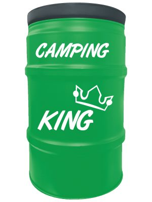 sitzfass_camping_king_grün