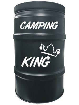 sitzfass_camping_king_schwarz